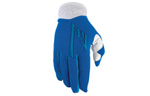 Fly Racing Lite Pro Gants longs bleu/blanc
